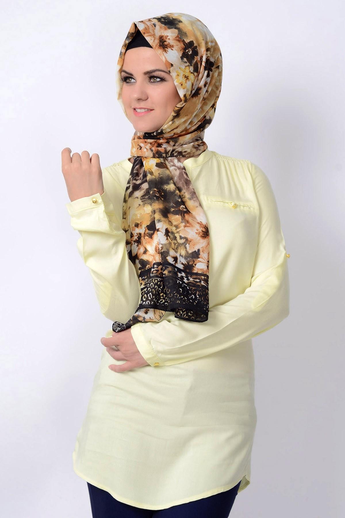 بالصور موديلات حجابات تركية صيفية , للجمال اسباب والحجاب الجميل احد اسبابه 170 4