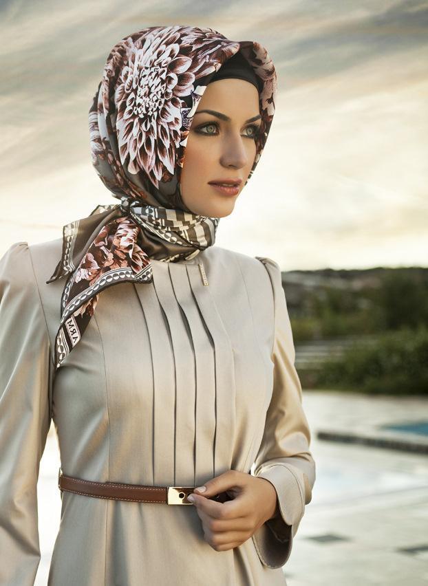 بالصور موديلات حجابات تركية صيفية , للجمال اسباب والحجاب الجميل احد اسبابه 170 5