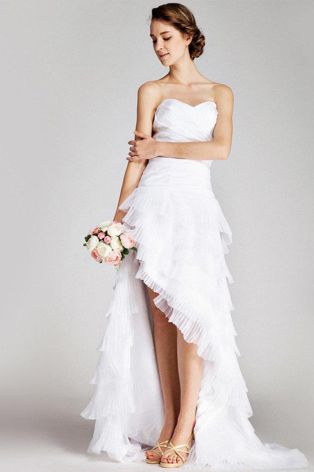 بالصور فساتين اعراس قصيرة 2019 , ملابس سواريه جميلة 176 3