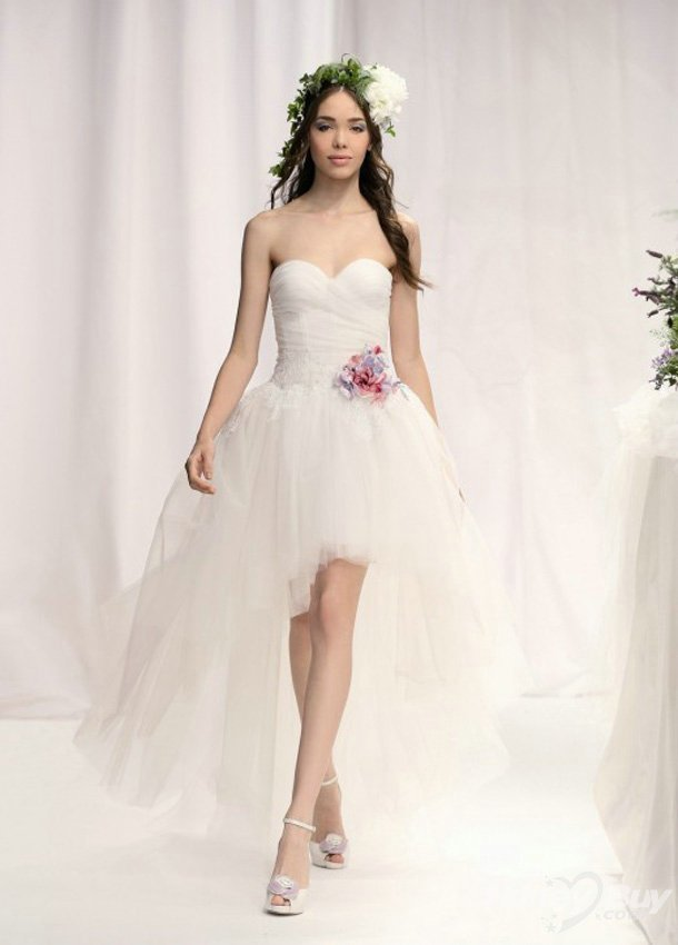 بالصور فساتين اعراس قصيرة 2019 , ملابس سواريه جميلة 176 4