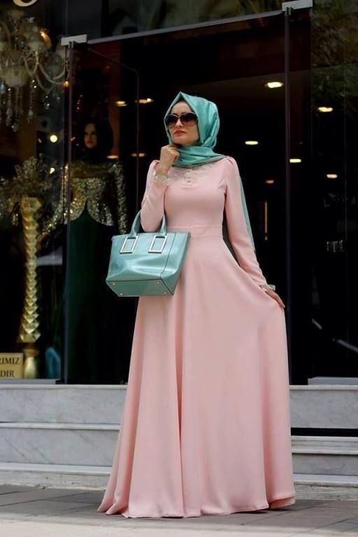 بالصور اجمل الوان فساتين سوارية 2019 , حلاوة اللون في الملابس السورية 183 2