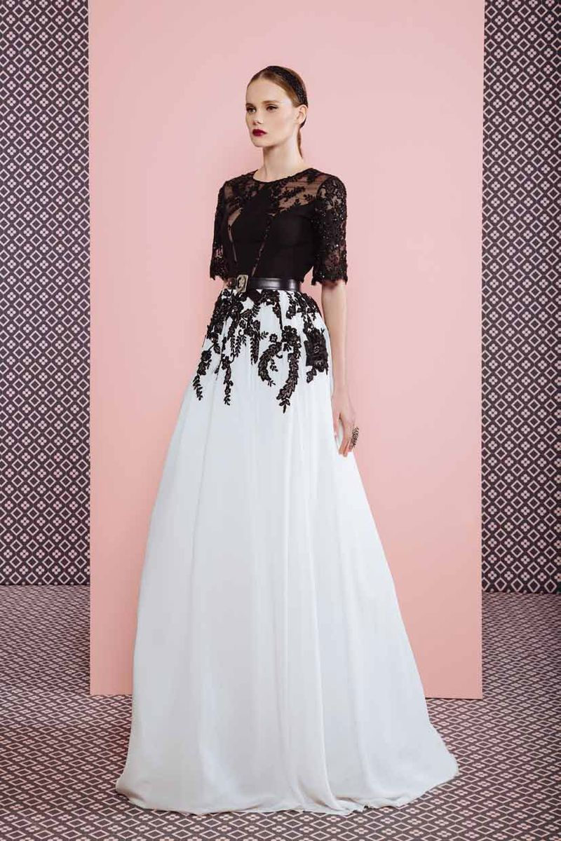 بالصور احدث ازياء للسهرات 2019 , ملابس جميله للمساء والسهره 188 11