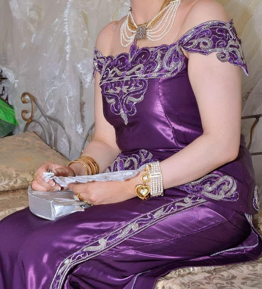 بالصور فساتين جميلة جزائرية , يا جمال الالوان الساحرة 203 4