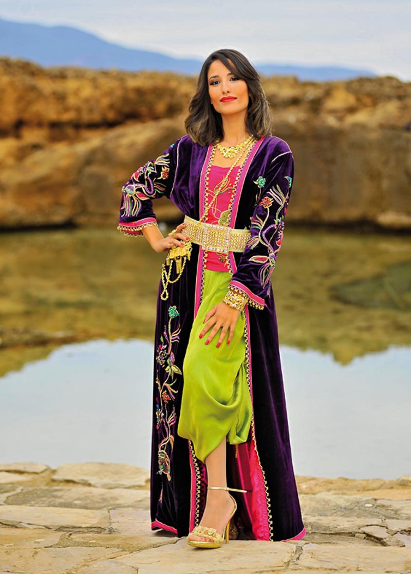 بالصور ازياء تقليدية جزائرية فيس بوك , موديلات رائعه , شوف الجمال والاستيل الرقيق 219 2