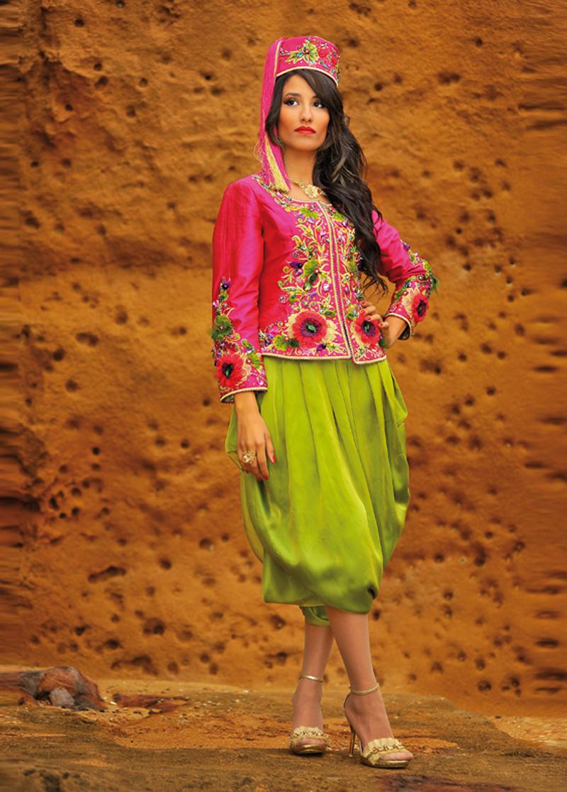 بالصور ازياء تقليدية جزائرية فيس بوك , موديلات رائعه , شوف الجمال والاستيل الرقيق 219 4
