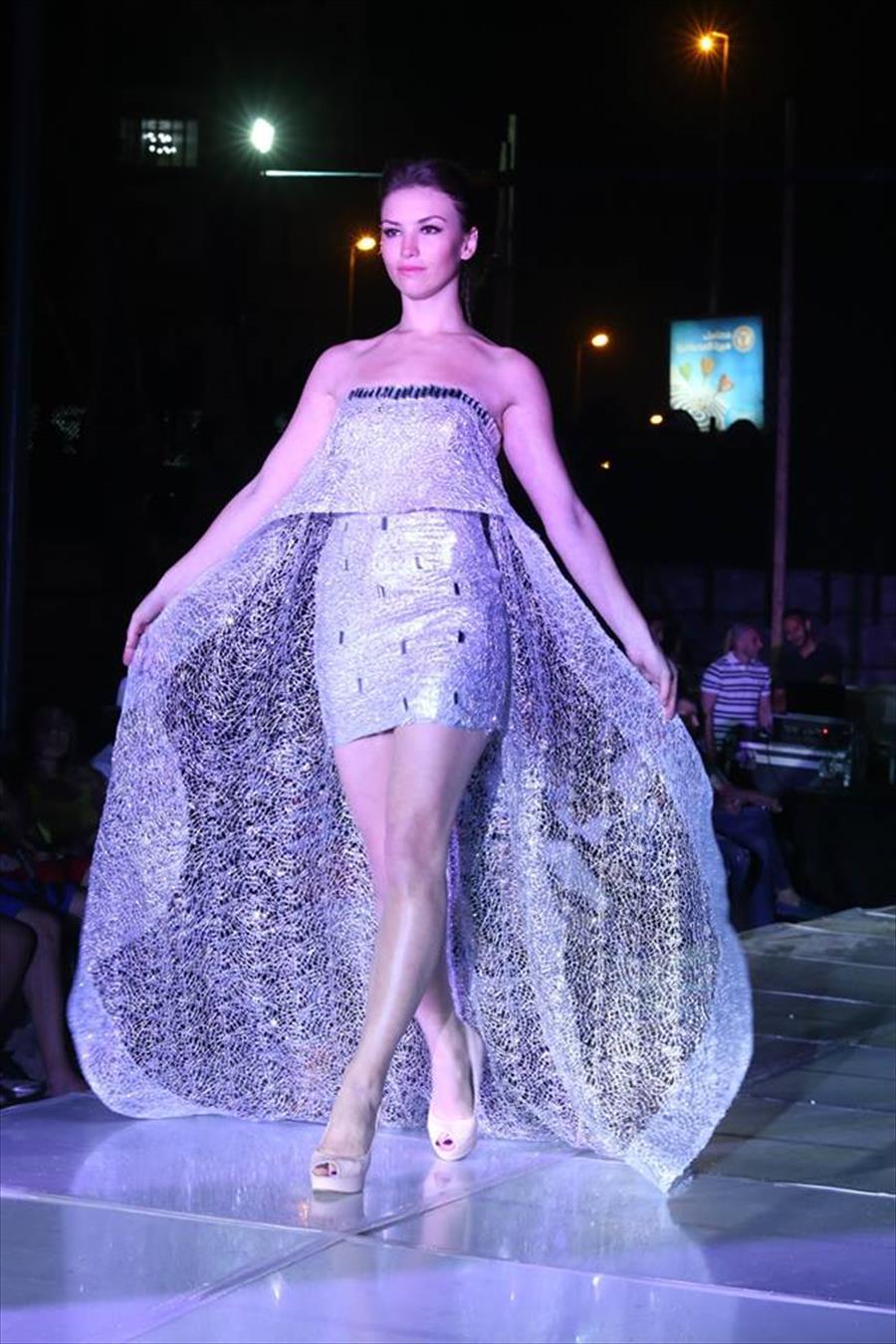 صوره فساتين سهرة في طرابلس فيس بوك , اروع الفساتين , قلبي يا ناس علي الاناقة