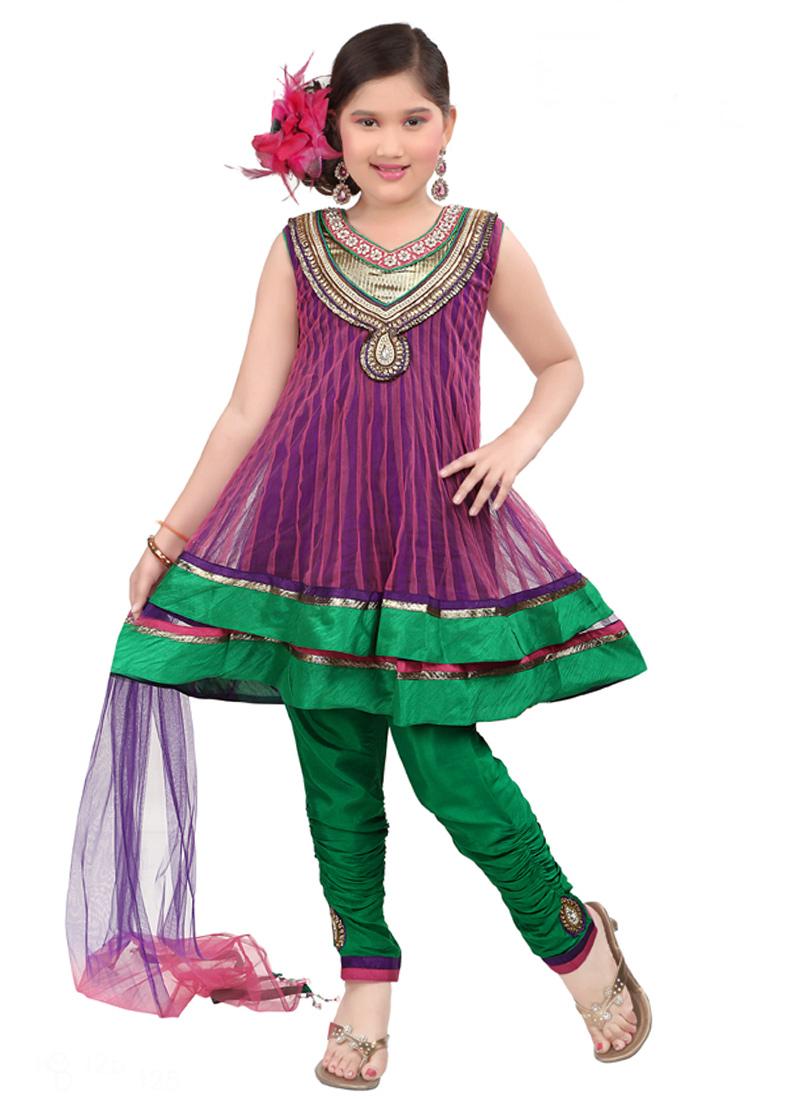 بالصور ملابس هندية للبنوتات 2019 , ايه الحلاوه والشياكه دي 231 27