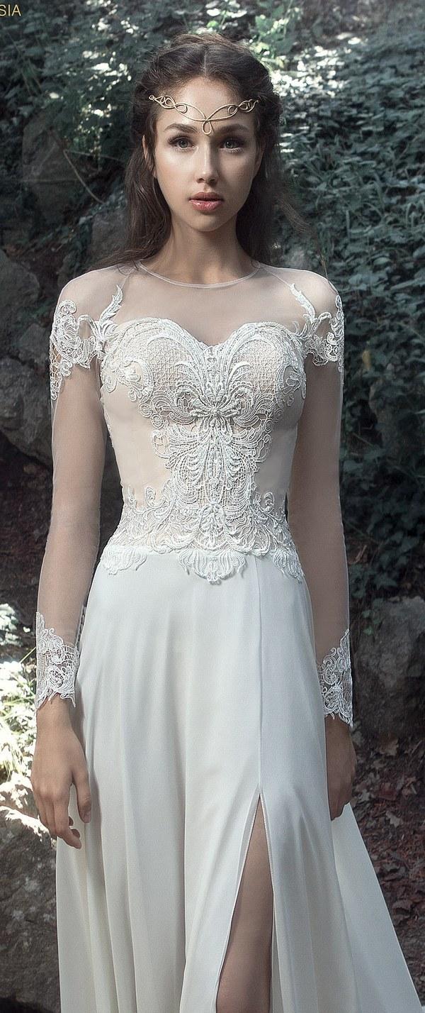 صورة صور فساتين زفاف 2020 , ليله العمر بيكي مميزة 236 2
