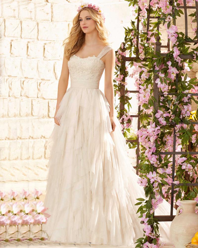 صورة صور فساتين زفاف 2020 , ليله العمر بيكي مميزة 236 8