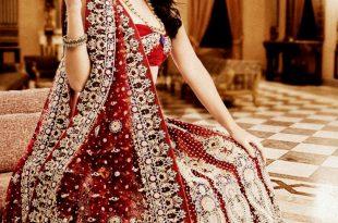 صورة فساتين اعراس هندي , اجمل فستان هندى