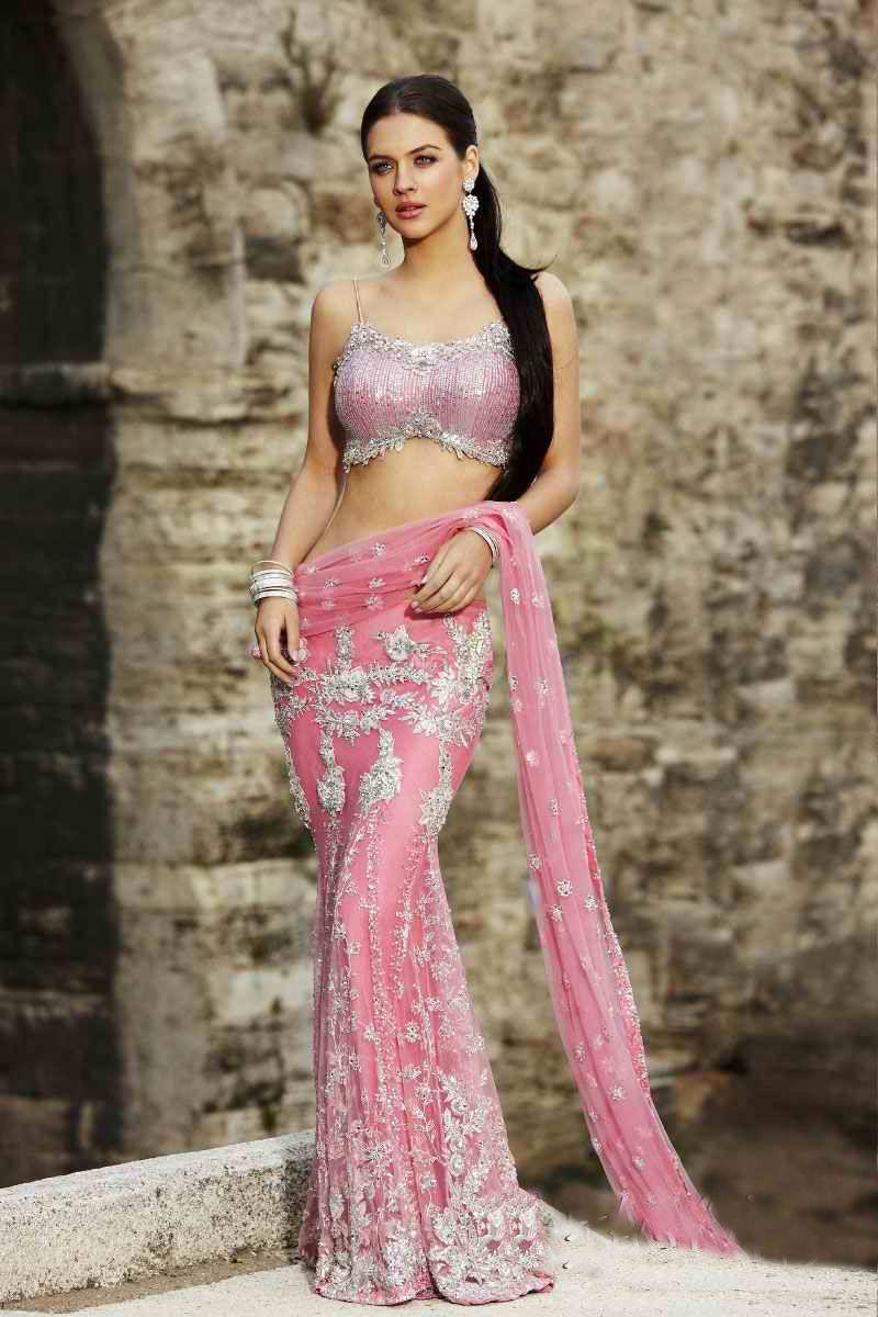 بالصور فساتين اعراس هندي , اجمل فستان هندى 247 3