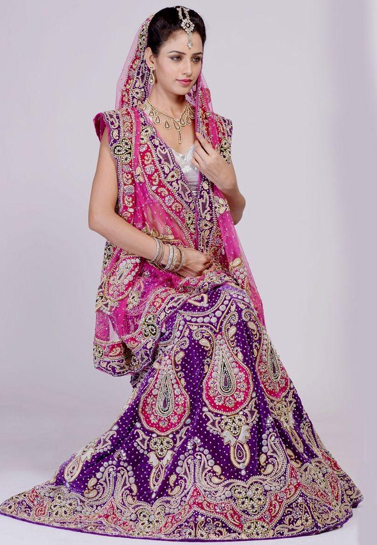 بالصور فساتين اعراس هندي , اجمل فستان هندى 247 4