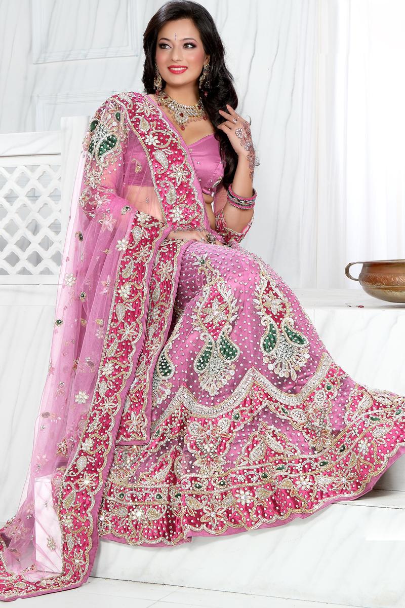 بالصور فساتين اعراس هندي , اجمل فستان هندى 247 7