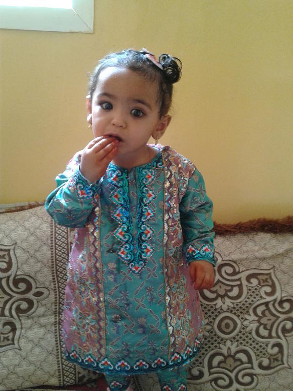 صور ازياء عمانية تقليدية للاطفال , ملابس رائعه للمناسبات