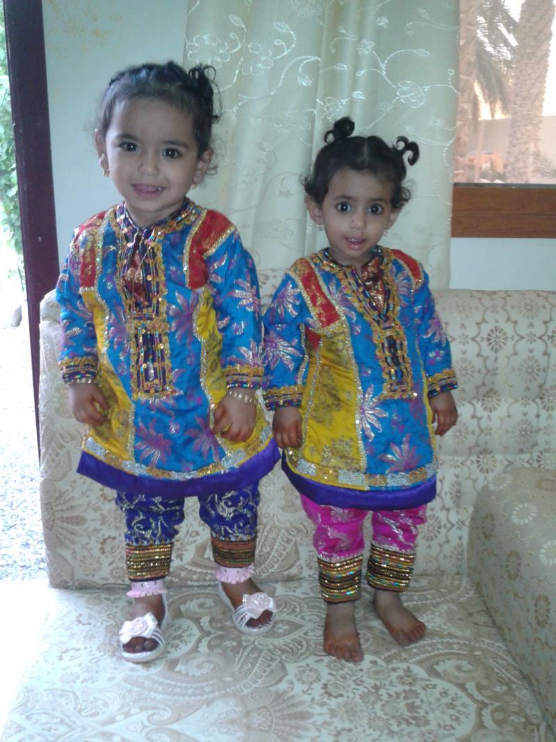 بالصور ازياء عمانية تقليدية للاطفال , ملابس رائعه للمناسبات 259 3