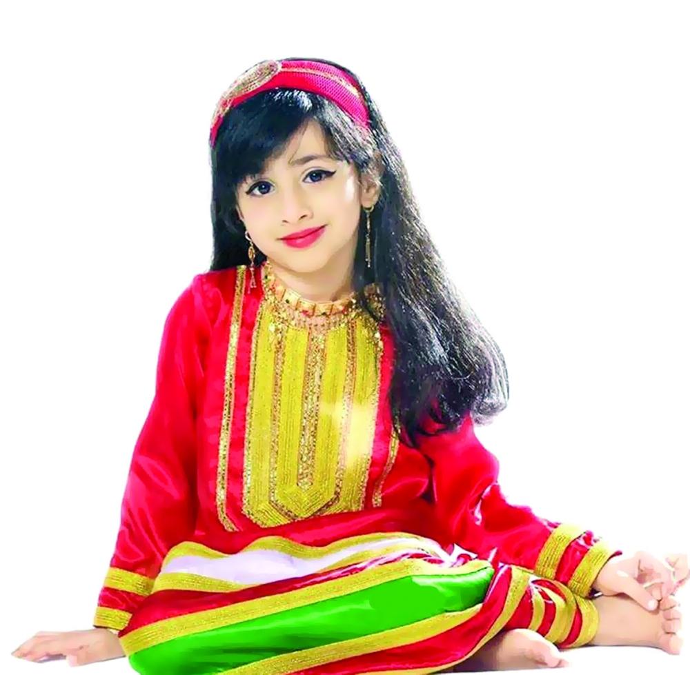 بالصور ازياء عمانية تقليدية للاطفال , ملابس رائعه للمناسبات 259 5