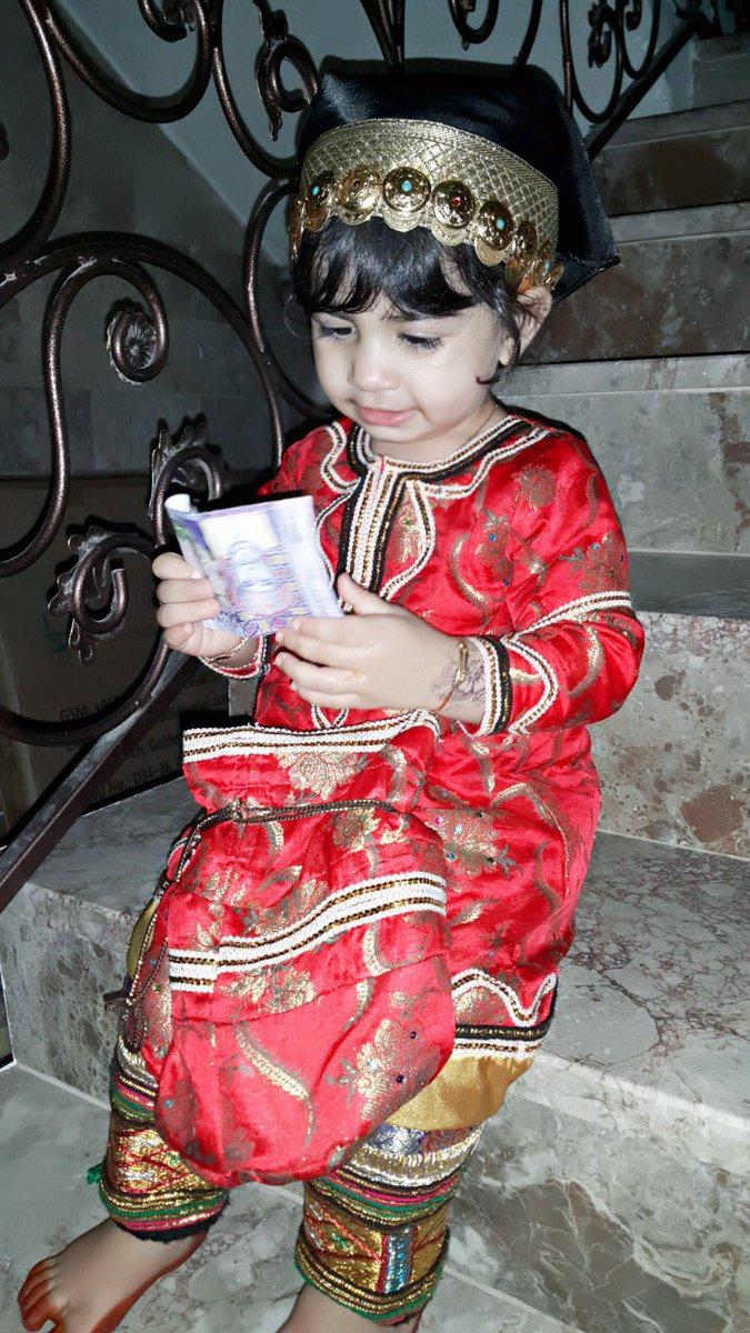 بالصور ازياء عمانية تقليدية للاطفال , ملابس رائعه للمناسبات 259 8