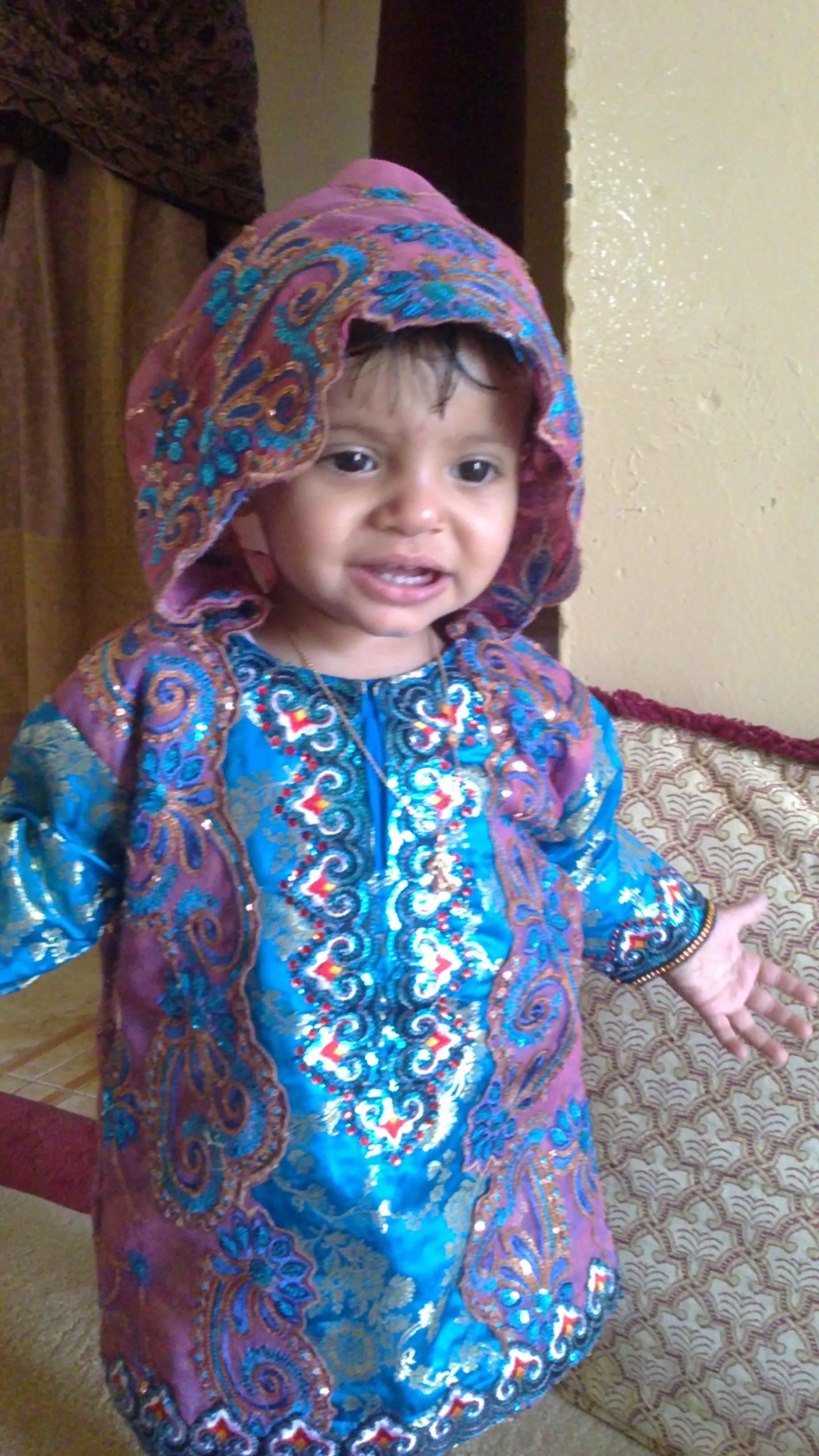 صوره ازياء عمانية تقليدية للاطفال , ملابس رائعه للمناسبات