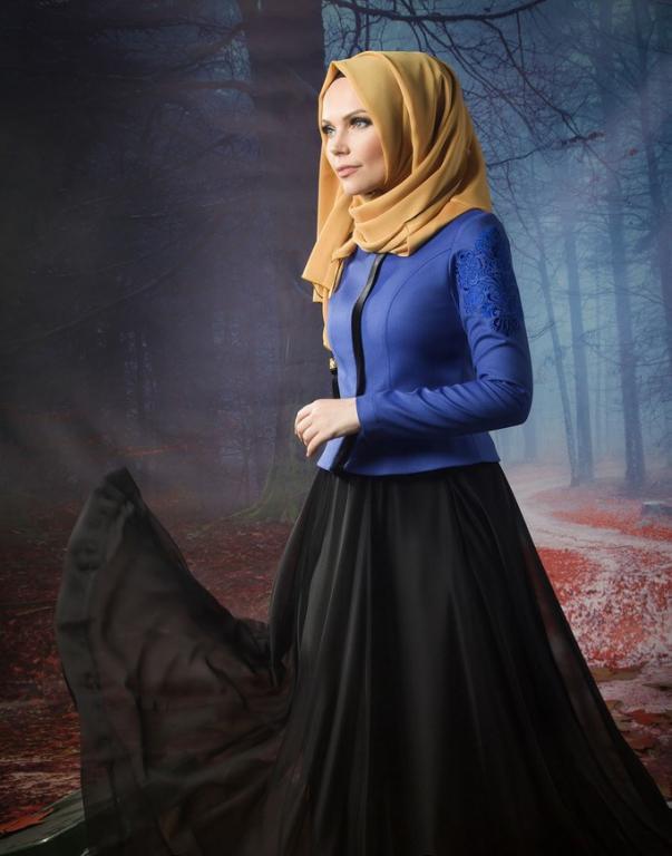 بالصور اروع الازياء المحتشمة 2019 , ملابس محجبات روعه 281 9