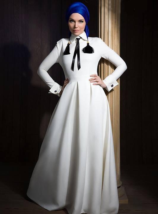 فساتين محجبات 2020 فيس بوك موديلات للمحجبات شيك اجمل فساتين سهرة احدث موديلات الملابس العصرية الجديدة