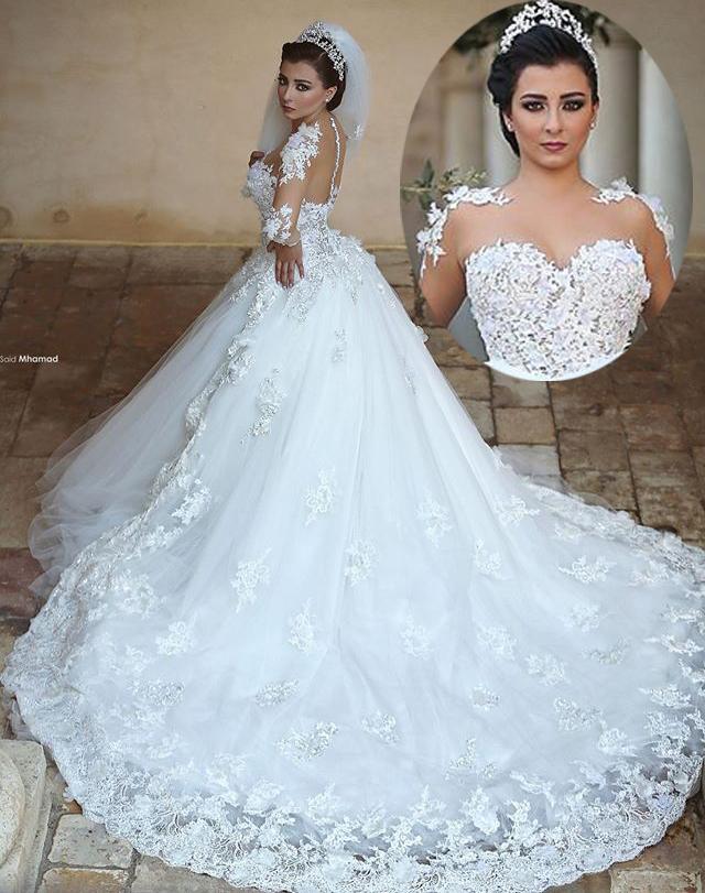 بالصور محلات فساتين زفاف فيس بوك , ليله العمر احلي بيكي 306 5