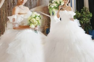 صورة محلات فساتين زفاف فيس بوك , ليله العمر احلي بيكي