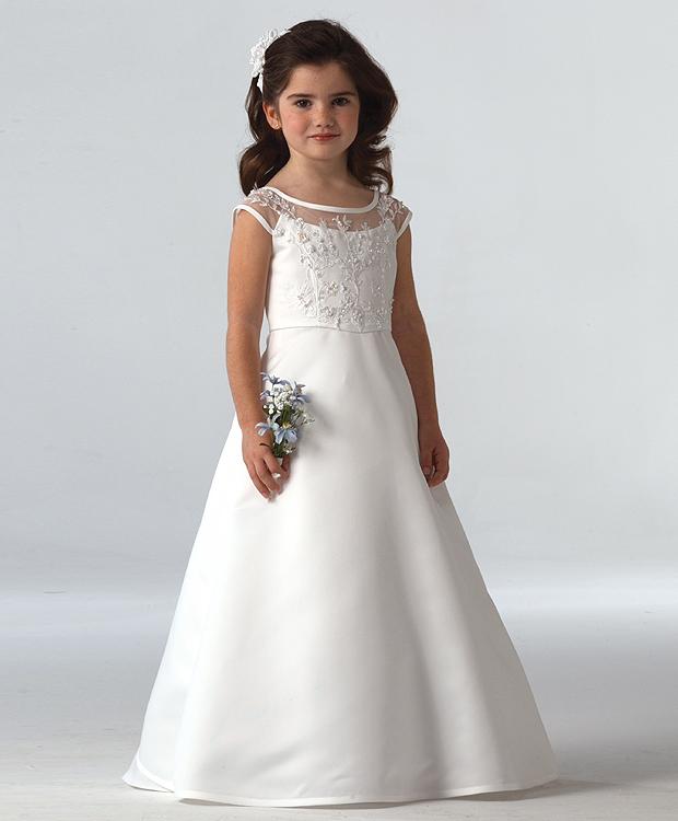 بالصور فساتين اعراس للبنات الصغار , ازياء زفاف للصبايا 313 2