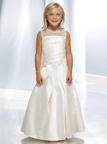 بالصور فساتين اعراس للبنات الصغار , ازياء زفاف للصبايا 313 3
