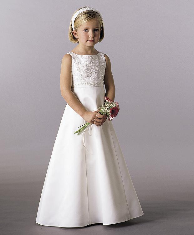 بالصور فساتين اعراس للبنات الصغار , ازياء زفاف للصبايا 313 6
