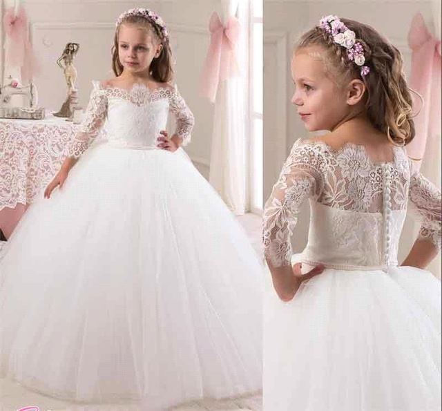 بالصور فساتين اعراس للبنات الصغار , ازياء زفاف للصبايا 313 7