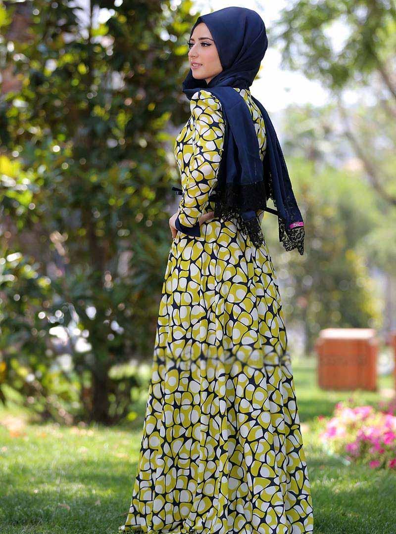 بالصور فساتين رائعة للمحجبات , ازياء تركية , يا جمالك يا ملكة العالم 328 7