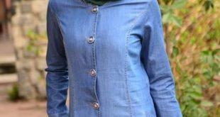 بالصور فساتين محجبات جينز , ازياء اسلاميه , رقتك وجمالك سر انوثتك 369 10 310x165