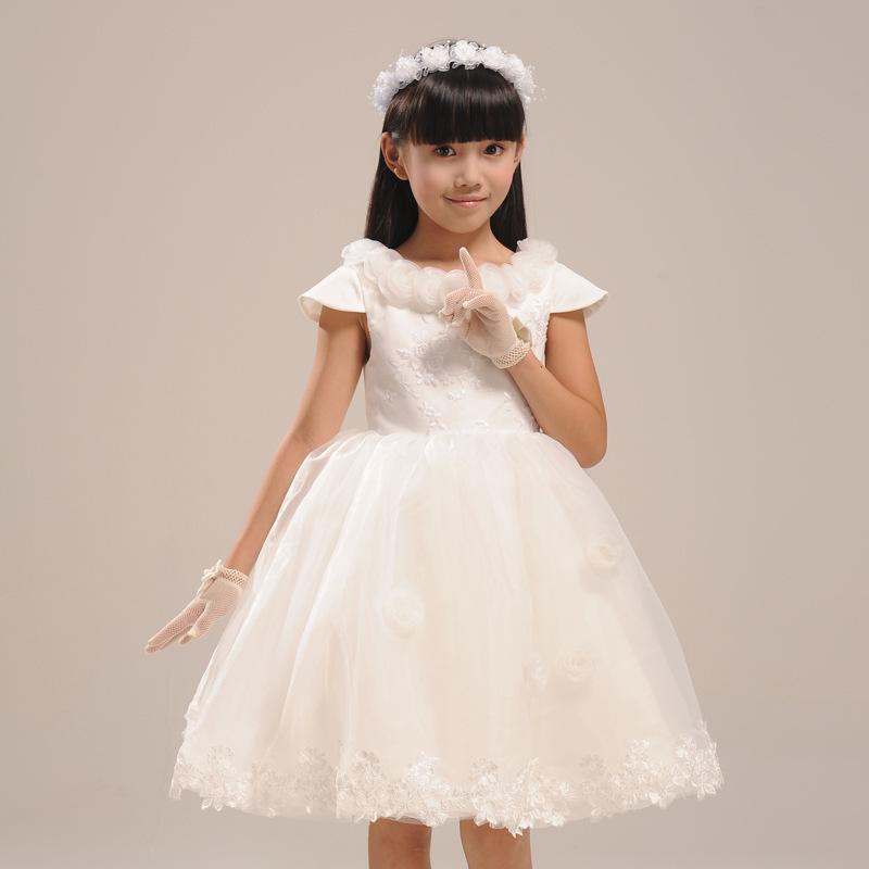 بالصور فساتين للاعراس اطفال , لاحلي البنات العرايس 379 1