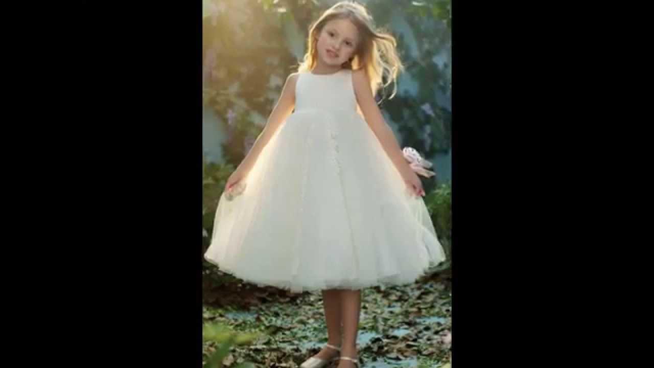 بالصور فساتين للاعراس اطفال , لاحلي البنات العرايس 379 4