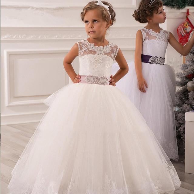 بالصور فساتين للاعراس اطفال , لاحلي البنات العرايس 379 7