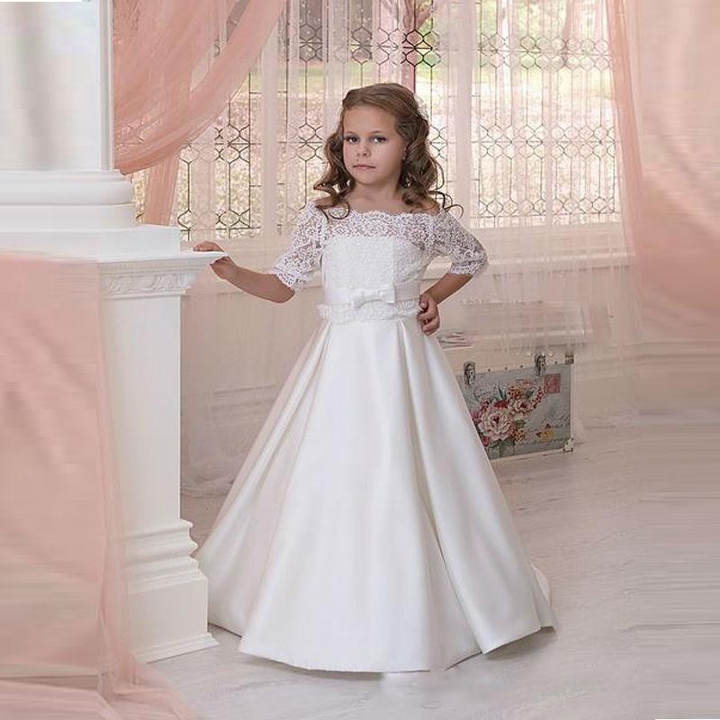 بالصور فساتين للاعراس اطفال , لاحلي البنات العرايس 379 8