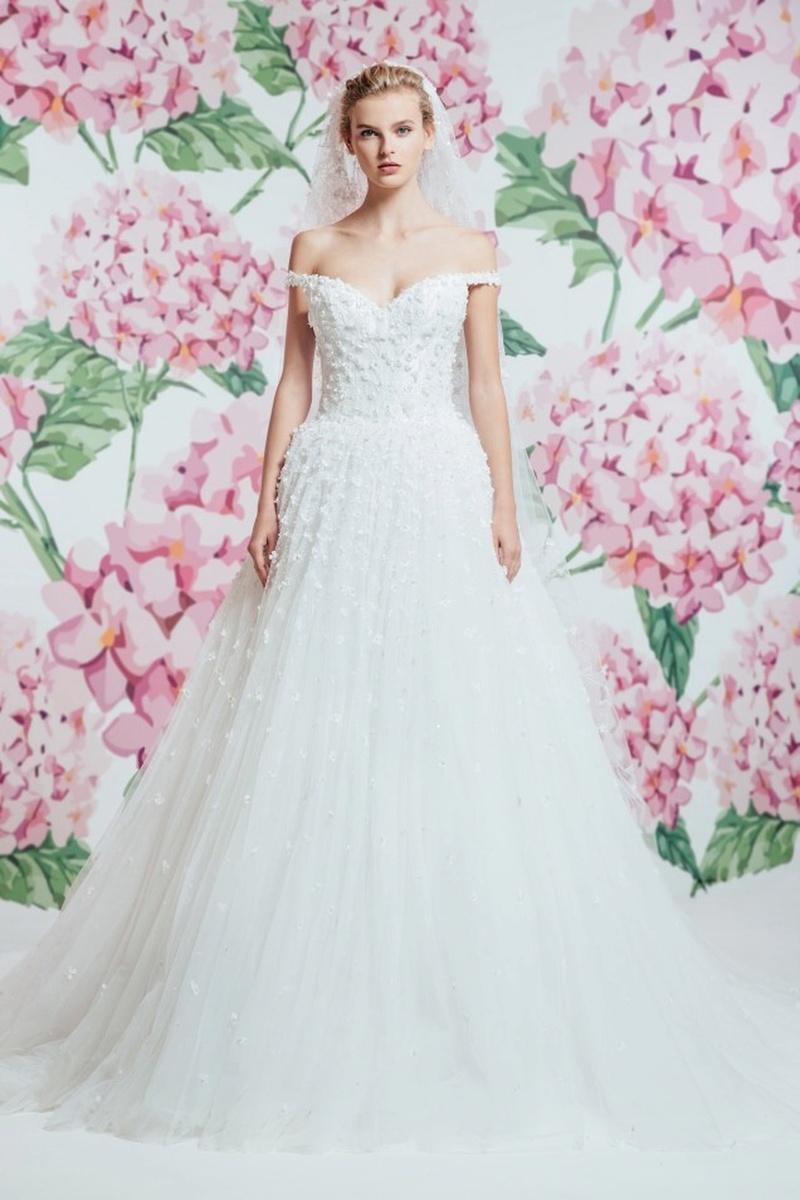 صور فساتين زفاف فخمه 2019 احدث فساتين فخمه للعروس 2019 , فرحتك هتكمل معانا يا موزة