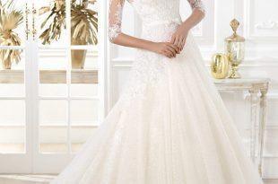 صورة تصاميم فساتين زفاف 2020 , كولكشن جميل خااالص