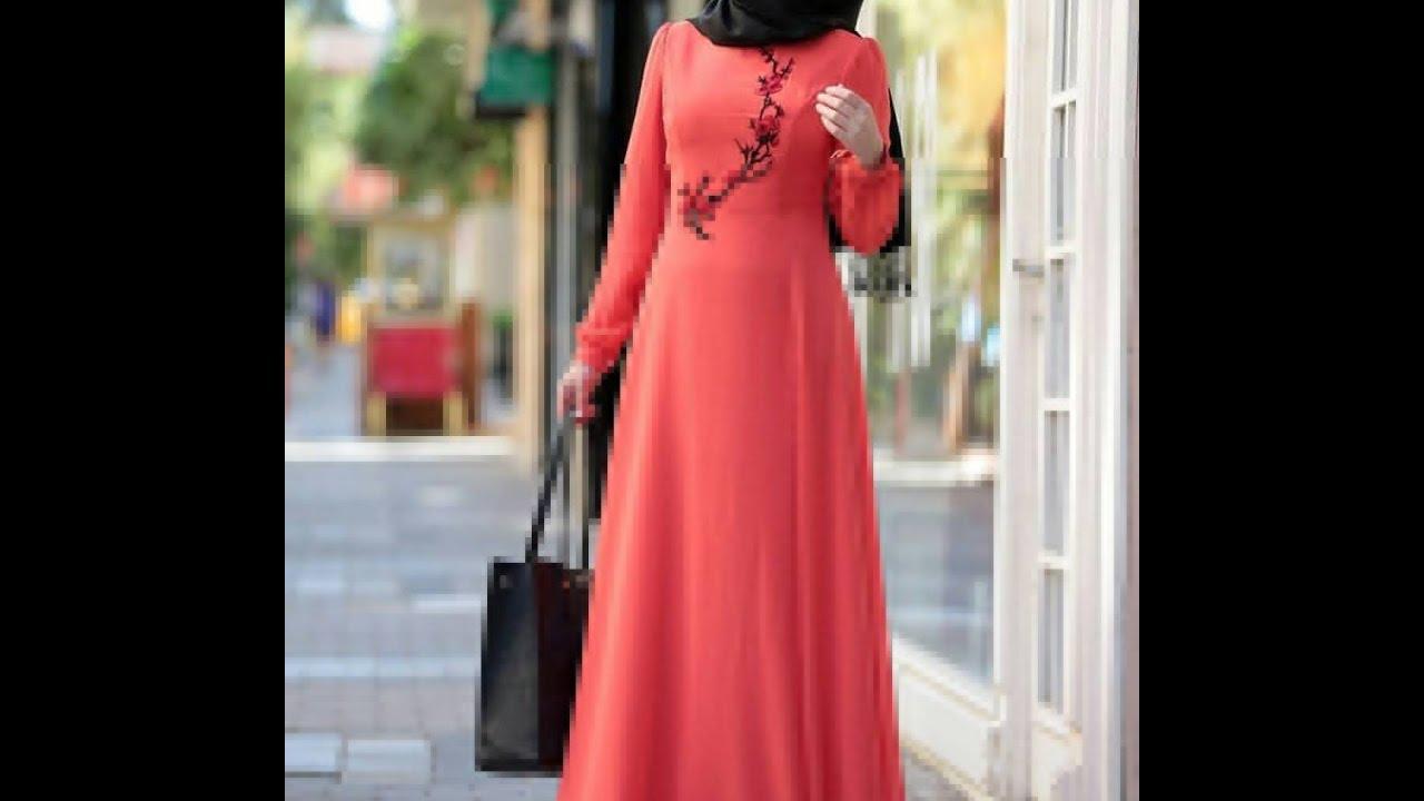 بالصور كولكشن ازياء جميلة للمحجبات 2019 , جمال لبس المراة المحجبة العصرية 398 12