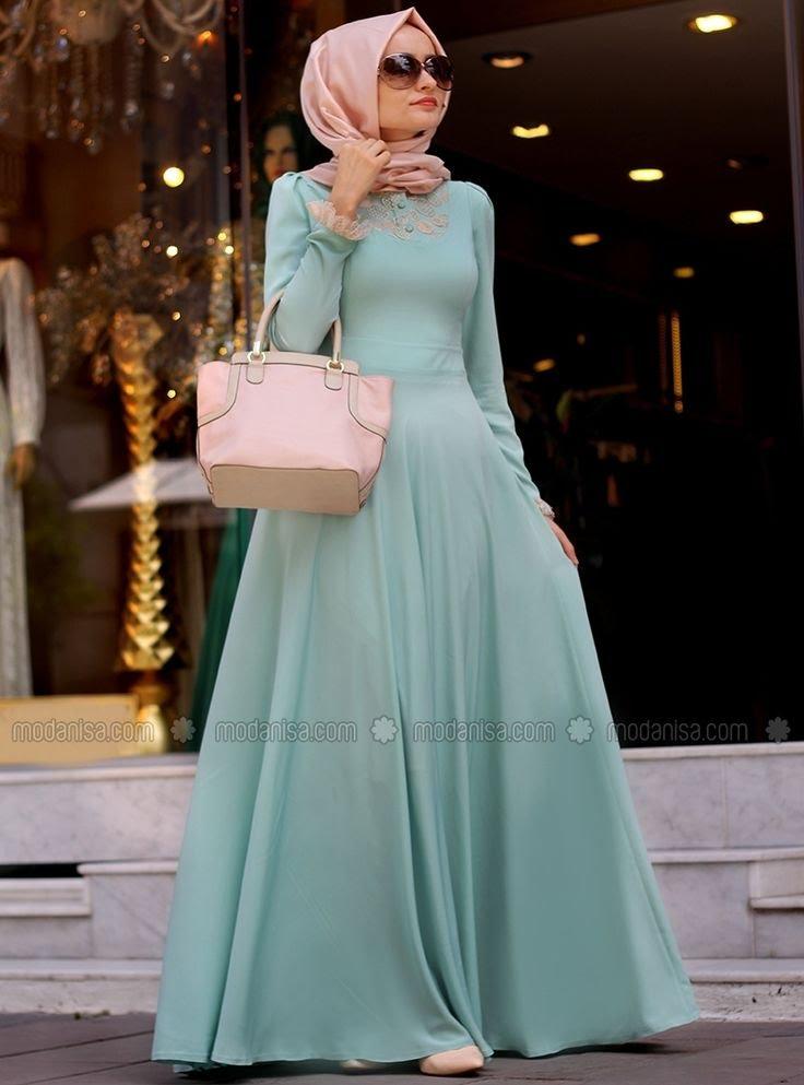 بالصور كولكشن ازياء جميلة للمحجبات 2019 , جمال لبس المراة المحجبة العصرية 398 5