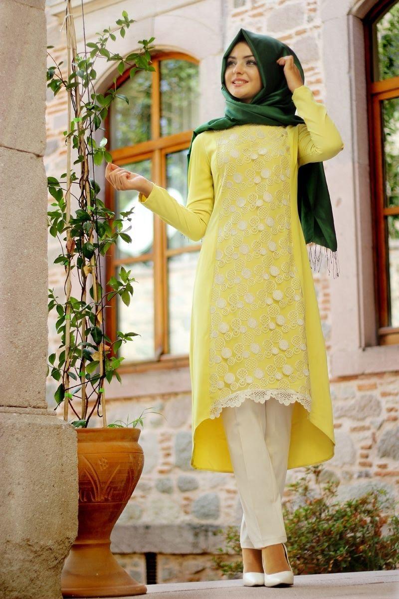 بالصور كولكشن ازياء جميلة للمحجبات 2019 , جمال لبس المراة المحجبة العصرية 398 7