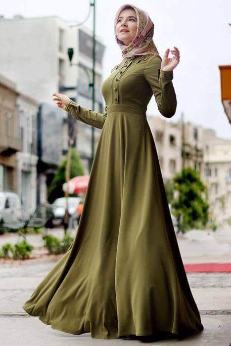 بالصور كولكشن ازياء جميلة للمحجبات 2019 , جمال لبس المراة المحجبة العصرية 398 8