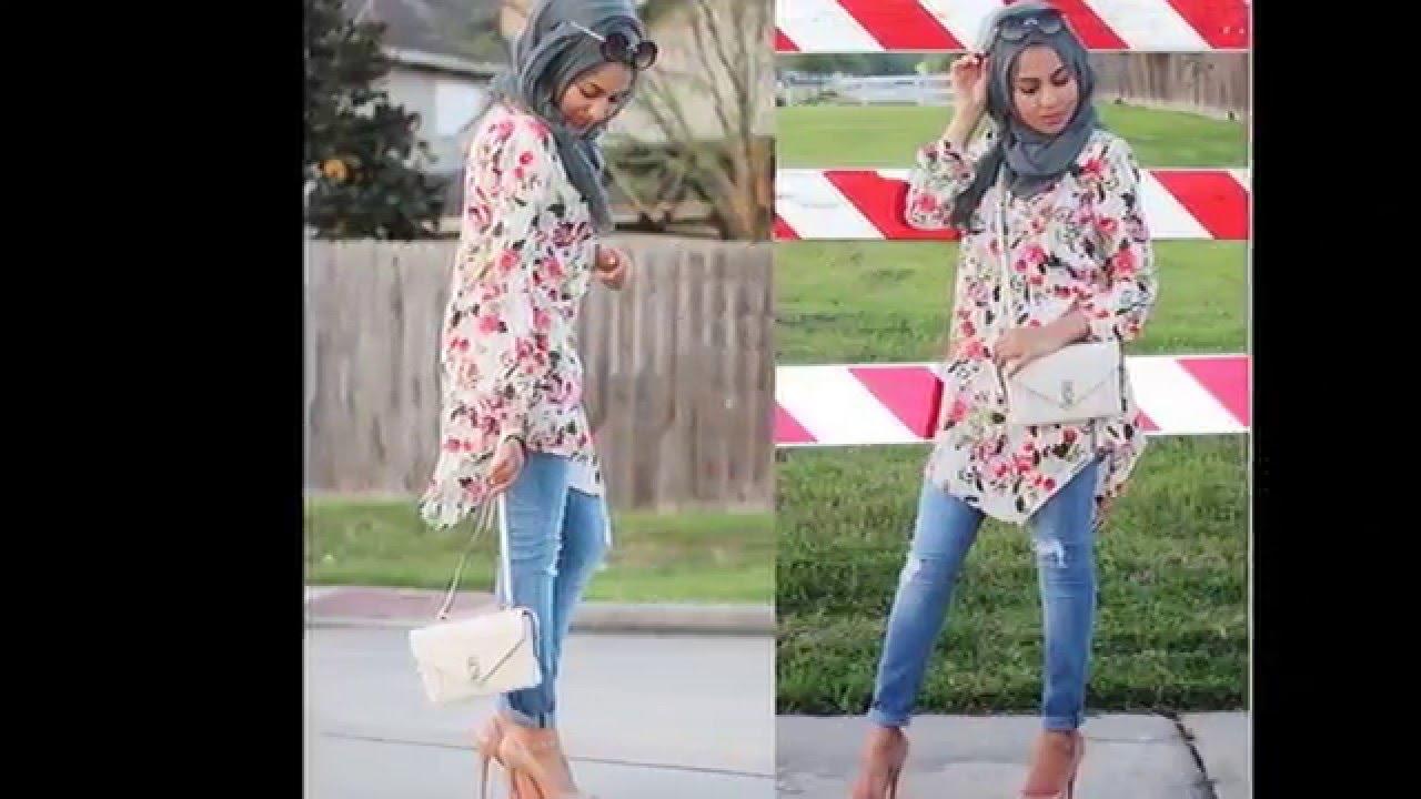 بالصور ملابس بنات محجبات 2019 , البسى وتالقى وانتى محجبة 433 6