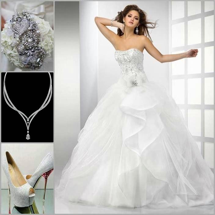 بالصور تصميمات فساتين زفاف 2019 , احدث وارق موديلات فستان الزواج 484 10