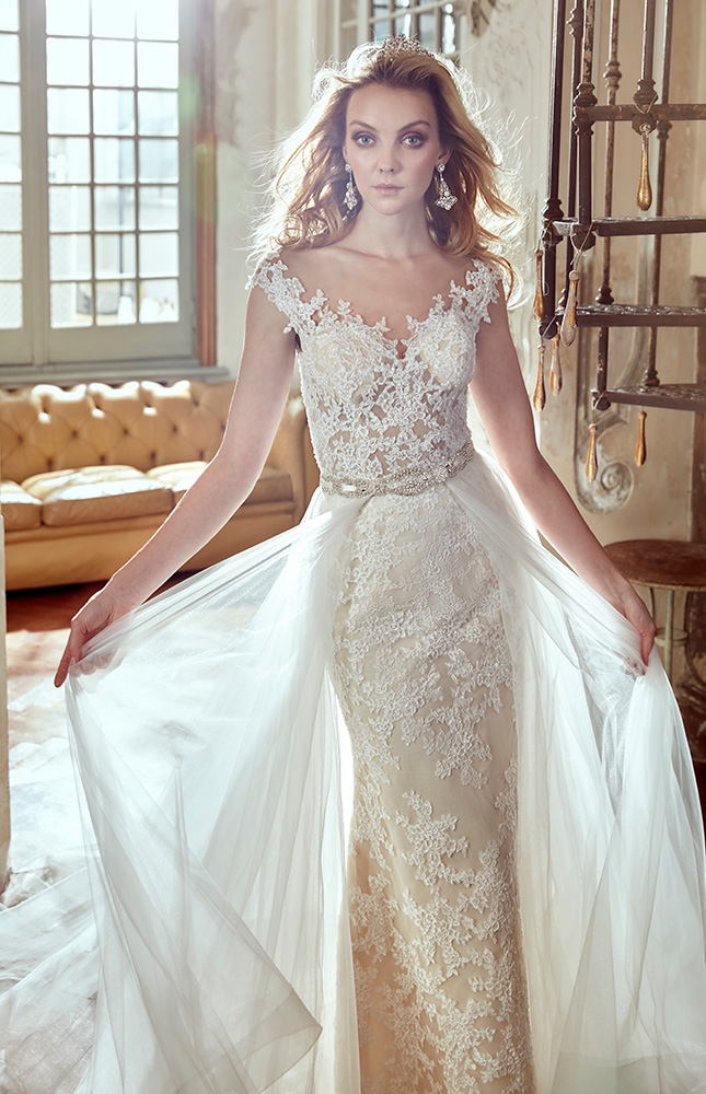 بالصور تصميمات فساتين زفاف 2019 , احدث وارق موديلات فستان الزواج 484 2