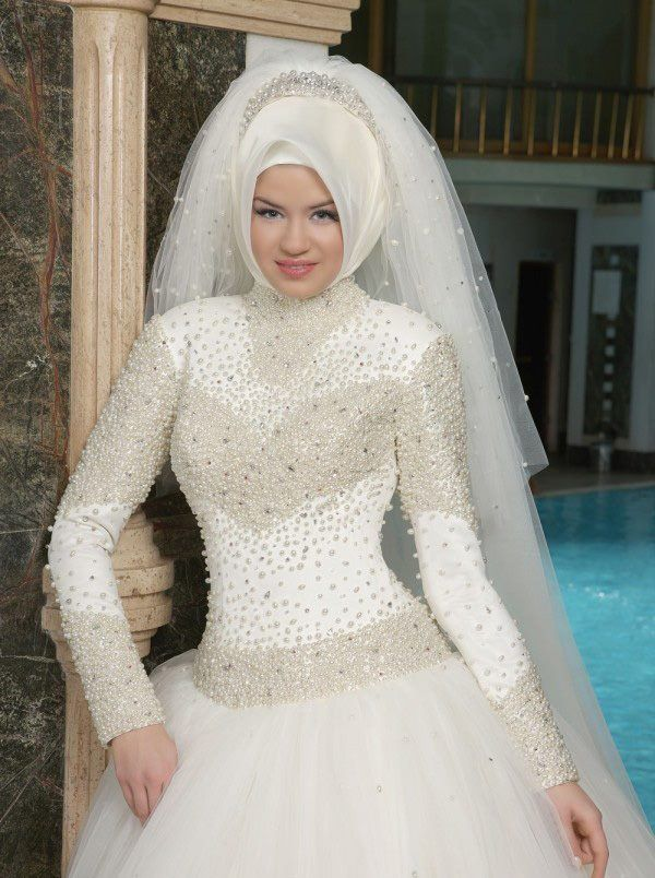 بالصور تصميمات فساتين زفاف 2019 , احدث وارق موديلات فستان الزواج 484 8