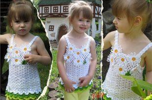 بالصور فساتين كروشية صيفية بالباترون , ملابس للصيف بالكروشيه 489 8 310x205