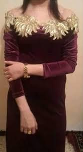 بالصور فساتين قطيفة جميلة , سواريهات ثقيلة , اجمل ملابس فصل الشتاء 492 3
