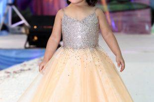 صوره فساتين اطفال للاعراس في دبي , اجمل فساتين للاطفال , زى البنات الخاص بالافراح