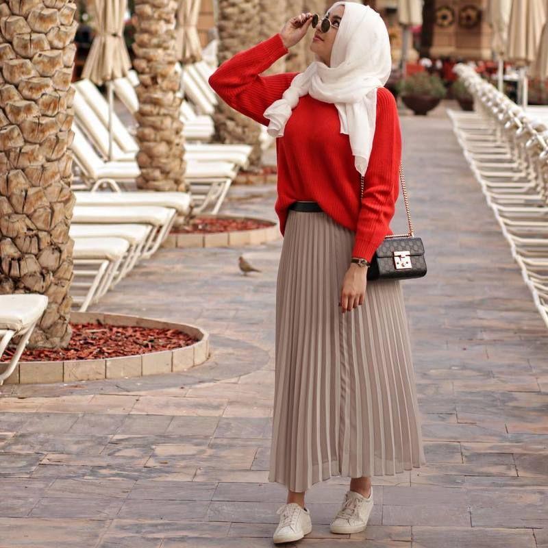 8a75ed838 صور موضة ازياء المحجبات ربيع صيف 2019 , ازياء روعة لكل بنت , اروع الملابس  والحجاب